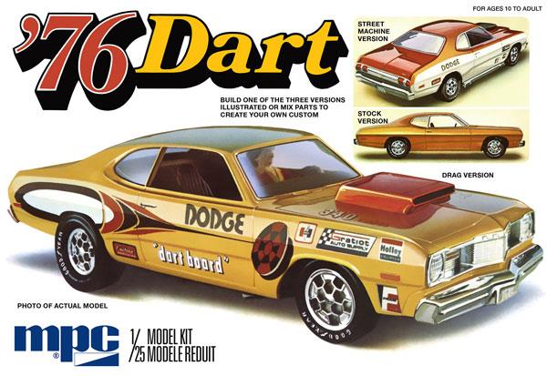 1/25 1976 ダッジダート・スポーツ プラモデル[MPC]《在庫切れ》