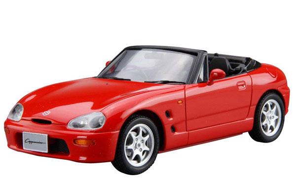 ザ・モデルカー No.40 1/24 スズキ EA11R カプチーノ '91 プラモデル[アオシマ]《04月予約※暫定》