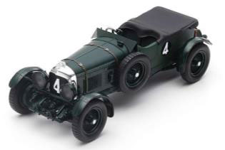 1/18 Bentley Speed Six No.4 Winner 24H Le Mans 1930 W. Barnato - G. Kidston[スパーク]【送料無料】《06月仮予約》