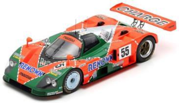 1/18 Mazda 787 B No.55 Winner 24H Le Mans 1991 V. Weidler - J. Herbert - B. Gachot[スパーク]【送料無料】《06月仮予約》