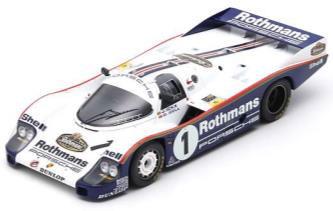 1/18 Porsche 956 No.1 2nd 24H Le Mans 1983 J. Ickx - D. Bell[スパーク]【送料無料】《06月仮予約》