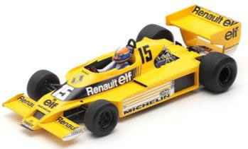 1/18 Renault RS01 No.15 South African GP 1979 Jean-Pierre Jabouille[スパーク]【送料無料】《06月仮予約》