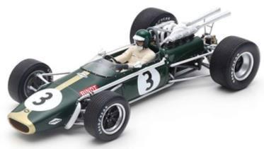 1/18 Brabham BT24 No.3 3rd South African GP 1968 Jochen Rindt[スパーク]【送料無料】《06月仮予約》
