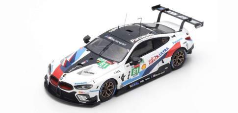 1/43 BMW M8 GTE No.81 BMW Team MTEK 24H Le Mans 2018 M. Tomczyk - N. Catsburg - P. Eng[スパーク]《04月仮予約》