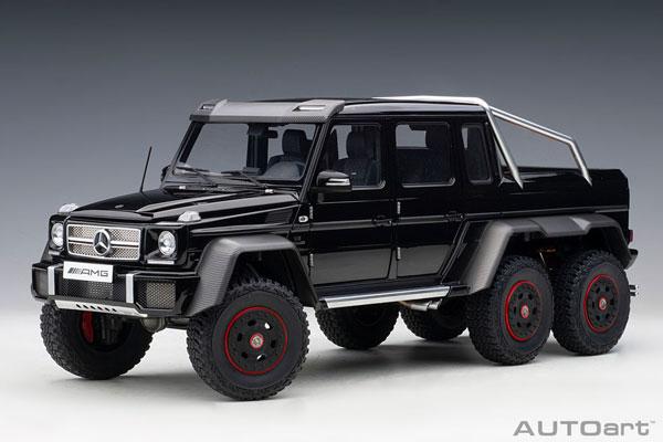 1/18 メルセデス・ベンツ G63 AMG 6X6 (ブラック)[オートアート]【送料無料】《在庫切れ》