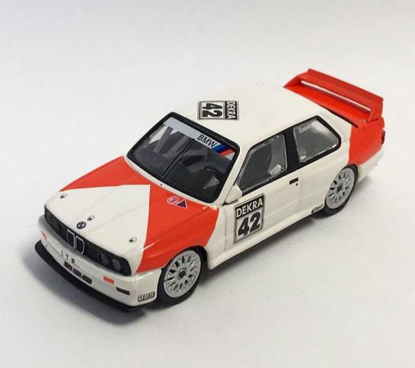 1/64 BMW M3 (E30) #42 DTM 1991[MINI GT]《発売済・在庫品》