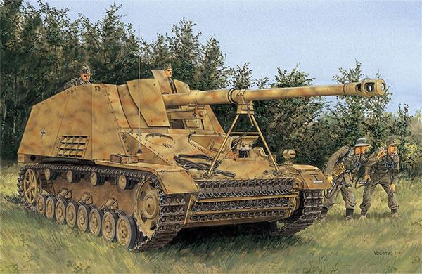 1/72 WW.II ドイツSd.Kfz.164ナースホルン NEOトラック付属 プラモデル[ドラゴンモデル]《在庫切れ》