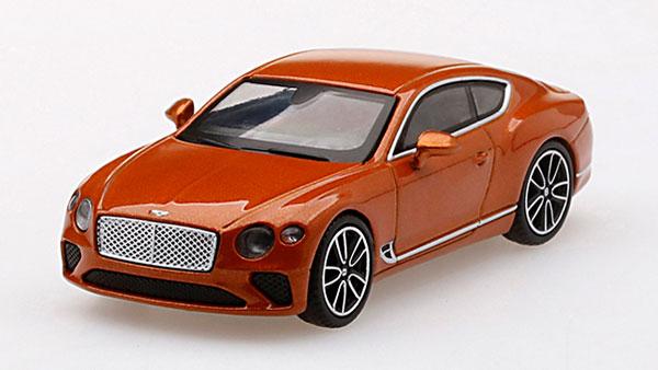 1/64 ベントレー コンチネンタルGT オレンジ フレイム(左ハンドル)[MINI GT]《発売済・在庫品》