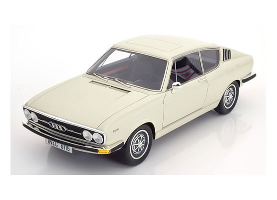 1/18 Audi 100 Coupe S 1970 white[KKスケール]《06月予約》