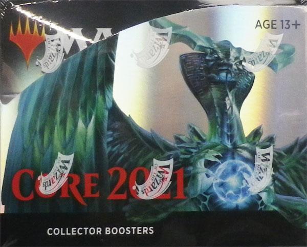 マジック:ザ・ギャザリング 基本セット2021 コレクター・ブースター 英語版 12パック入りBOX[Wizards of the Coast]【送料無料】《在庫切れ》