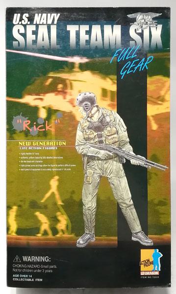 """1/6 アクションフィギュア アメリカ海軍 特殊部隊 'ネイビーシールズ' チーム6 隊員 """"リック""""[プラッツ]《在庫切れ》"""