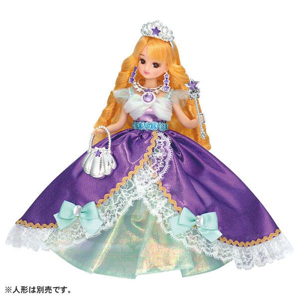 リカちゃん ゆめみるお姫さま マーメイドジュエルドレス (ドール用)[タカラトミー]《発売済・在庫品》