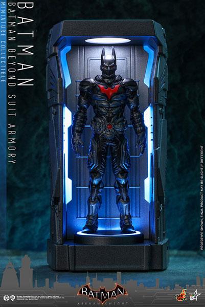 ビデオゲーム・マスターピース COMPACT バットマン:アーカム・ナイト シリーズ1 バットマン(ザ・フューチャー版)[ホットトイズ]《発売済・在庫品》