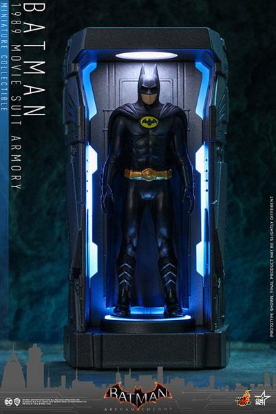ビデオゲーム・マスターピース COMPACT バットマン:アーカム・ナイト シリーズ1 バットマン(映画『バットマン』版)[ホットトイズ]《在庫切れ》