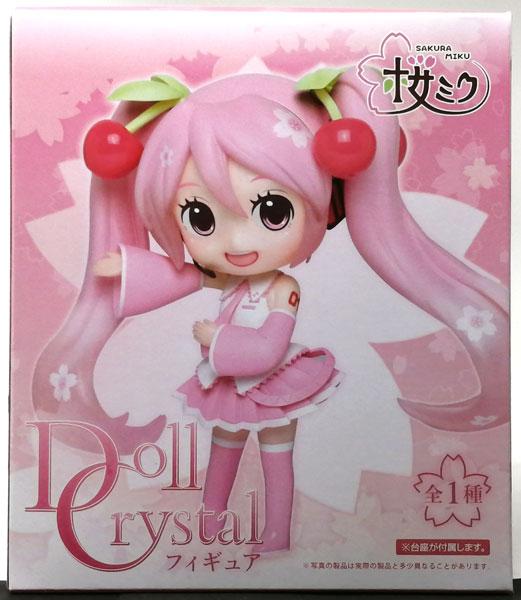 【中古】(本体A/箱B)桜ミク Doll Crystalフィギュア(プライズ)[タイトー]《発売済・在庫品》