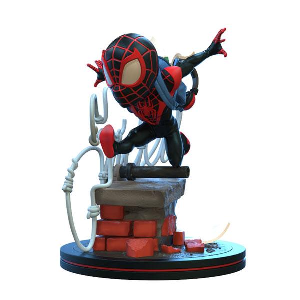 Qフィグ エリート/ マーベルコミック: スパイダーマン マイルス・モラレス PVCフィギュア[クアンタム・メカニックス]《在庫切れ》