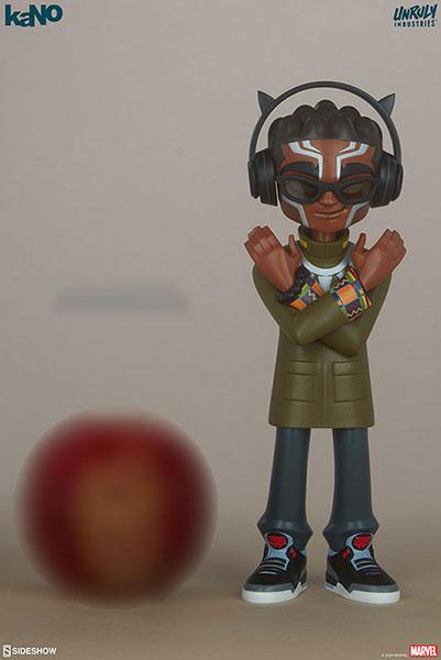 『マーベル・コミック』 デザイナー・トイアンルーリー・インダストリーズ ブラックパンサー by KaNO[サイドショウ]《在庫切れ》