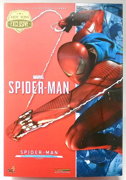 ビデオゲーム・マスターピース Marvel's Spider-Man 1/6スケールフィギュア スパイダーマン(スカーレット・スパイダー・スーツ版)(スパイダーマン エクスクルーシブ・ストア ジャパンツアー限定)
