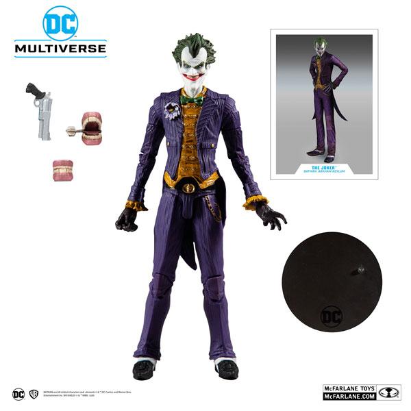 DCコミックス DCマルチバース 7インチ・アクションフィギュア ジョーカー バットマン:アーカム・アサイラム[マクファーレントイズ]《在庫切れ》