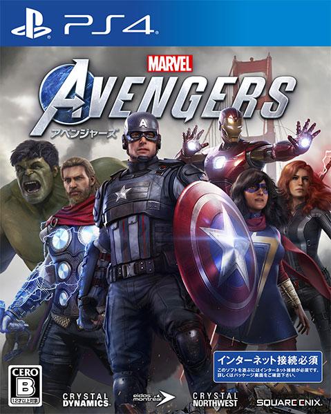 PS4 Marvel's Avengers(アベンジャーズ)[スクウェア・エニックス]《在庫切れ》