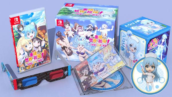 【特典】Nintendo Switch この素晴らしい世界に祝福を!この欲望の衣装に寵愛を! 限定版[MAGES.]【送料無料】《在庫切れ》