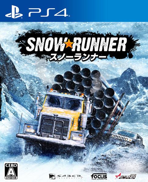 PS4 スノーランナー[オーイズミ・アミュージオ]《発売済・在庫品》