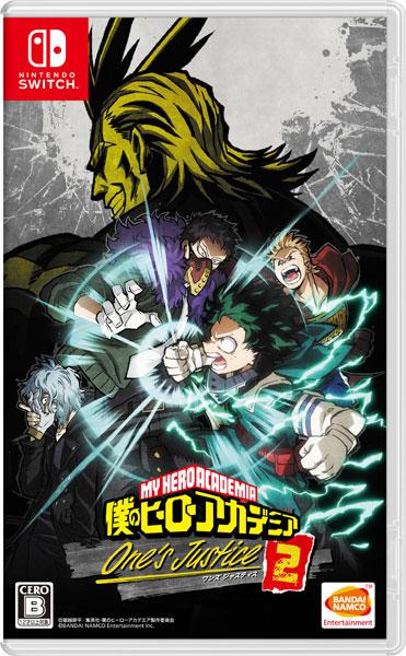 Nintendo Switch 僕のヒーローアカデミア One's Justice2(再販)[バンダイナムコ]【送料無料】《在庫切れ》