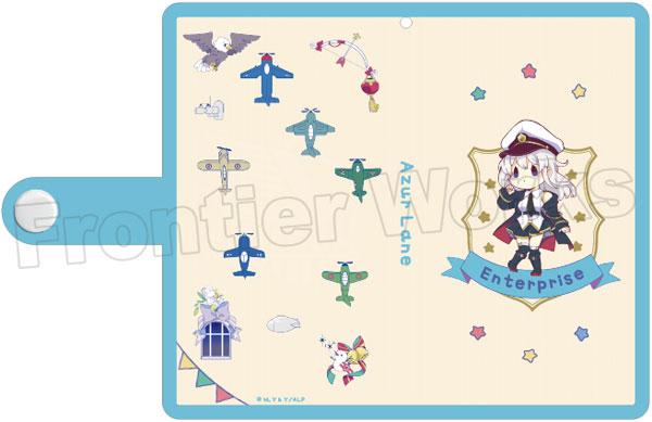 TVアニメ『アズールレーン』 ミニキャラ手帳型スマートフォンケース(エンタープライズ)[フロンティアワークス]《在庫切れ》