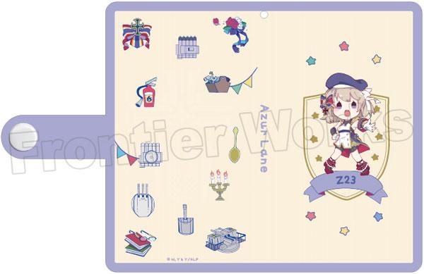 TVアニメ『アズールレーン』 ミニキャラ手帳型スマートフォンケース(Z23)[フロンティアワークス]《在庫切れ》
