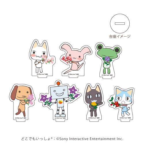 アクリルぷちスタンド「どこでもいっしょ Design produced by Sanrio」02/和柄ver. 7個入りBOX[A3]《在庫切れ》