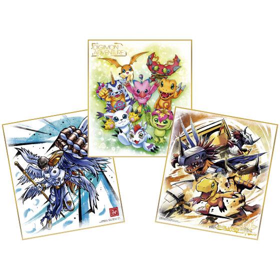 デジモン色紙ART 10個入りBOX (食玩)[バンダイ]《在庫切れ》