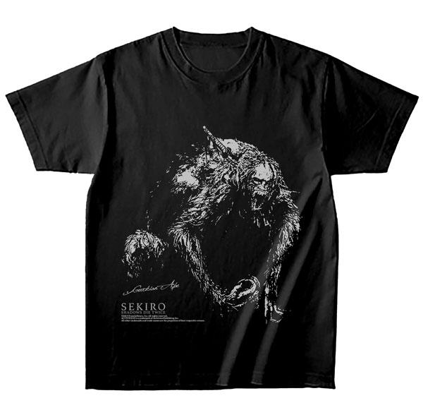 SEKIRO: SHADOWS DIE TWICE Tシャツ 獅子猿ver. Sサイズ[キャラアニ]《07月予約》