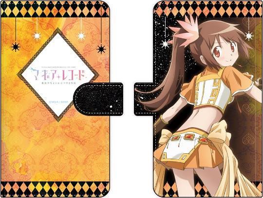 『マギアレコード』手帳型スマートフォンケース(粘着パッド固定タイプ) 由比鶴乃[キャラモード]《在庫切れ》