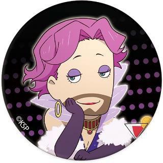 『歌舞伎町シャーロック』ちょっと大きめ缶バッジ ハドソン夫人SD[キャラモード]《在庫切れ》
