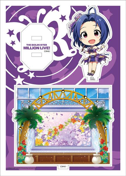 アイドルマスター ミリオンライブ! アクリルキャラプレートぷち02 三浦あずさ[あみあみ]《発売済・在庫品》