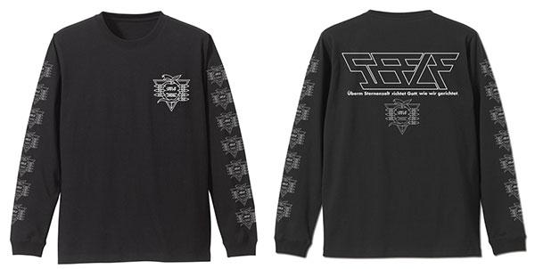 EVANGELION ゼーレ 袖リブロングスリーブTシャツ/BLACK-XL(再販)[コスパ]《09月予約》