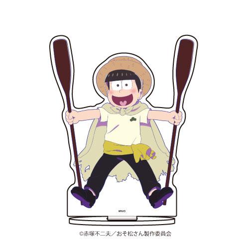 キャラアクリルフィギュア「おそ松さん」11/十四松 ゴンドラver.[A3]《在庫切れ》