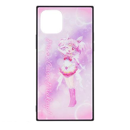 美少女戦士セーラームーン Eternal iPhone 11Pro 対応 スクエアガラスケース スーパーセーラーちびムーン[グルマンディーズ]《在庫切れ》
