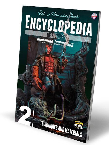 エンサイクロペディア・オブ・フィギュア モデリング テクニック Vol.2:テクニック&マテリアル (書籍)[アモ]《在庫切れ》