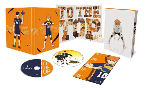 DVD ハイキュー!! TO THE TOP Vol.1 初回生産限定版[東宝]《在庫切れ》
