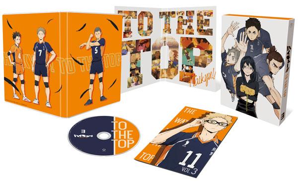 DVD ハイキュー!! TO THE TOP Vol.3 初回生産限定版[東宝]《発売済・在庫品》