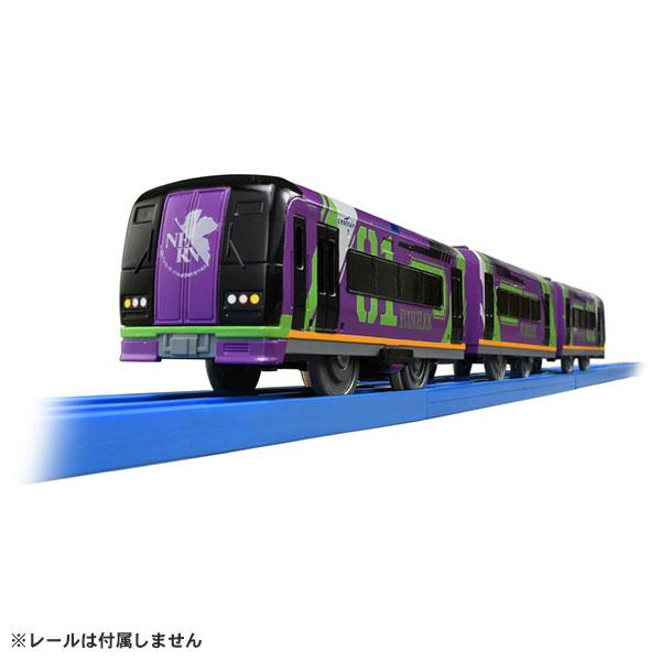 プラレール ぼくもだいすき!たのしい列車シリーズ エヴァンゲリオン特別仕様ミュースカイ[タカラトミー]《在庫切れ》