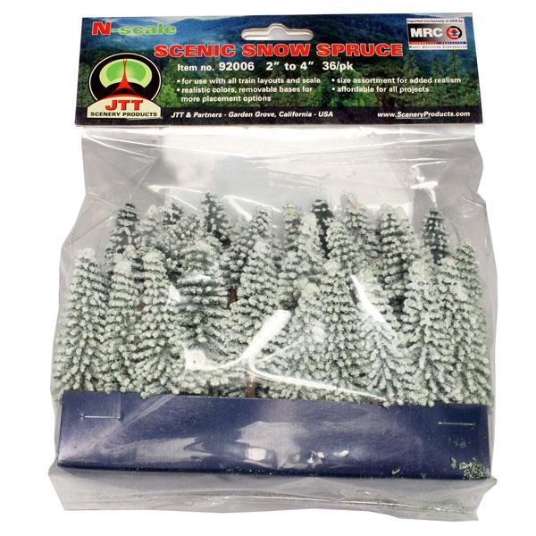 Nスケール 雪の松[JTTミニチュアツリー]《在庫切れ》