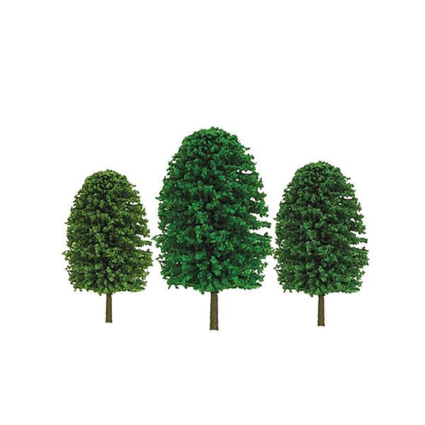 Nスケール 雑木 サイズ:高さ約5cm&約7.5cm (36本入り)[JTTミニチュアツリー]《在庫切れ》