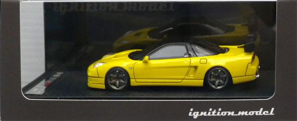 1/43 Honda NSX-R (NA2) Yellow[イグニッションモデル]《発売済・在庫品》