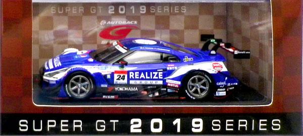 1/43 REALIZE Corporation ADVAN GT-R SUPER GT GT500 2019 No.24[EBBRO]《在庫切れ》