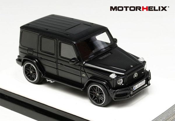 1/64 Mercedes AMG G63 (2019)Semi Gloss Black[MOTORHELIX]《06月仮予約》