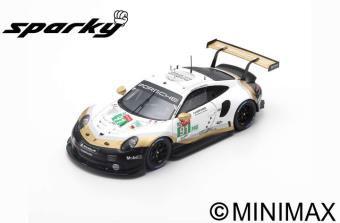 1/64 Porsche 911 RSR No.91 Porsche GT Team 2nd LMGTE Pro class 24H Le Mans 2019 R.Lietz - G.Bruni - F.Makowiecki[スパーク]《06月仮予約》