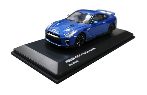 1/64 ニッサン GT-R (ブルー)[京商]《発売済・在庫品》