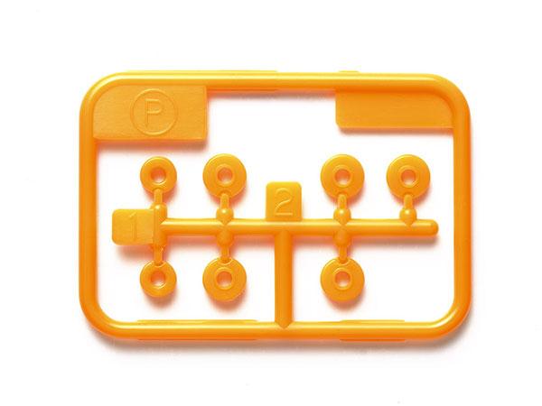 低摩擦プラベアリングセット (オレンジ) [ミニ四駆特別企画][タミヤ]《発売済・在庫品》